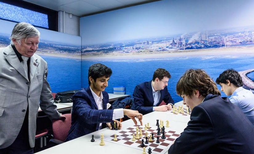 Tata Steel Chess Round 13: Vidit Gujrathi clinches title in Challengers; Magnus Carlsen beats Anish Giri to win Masters