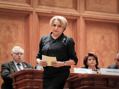Viorica Dancila, first elected woman prime minister of Romania, sworn in with 27-member Cabinet