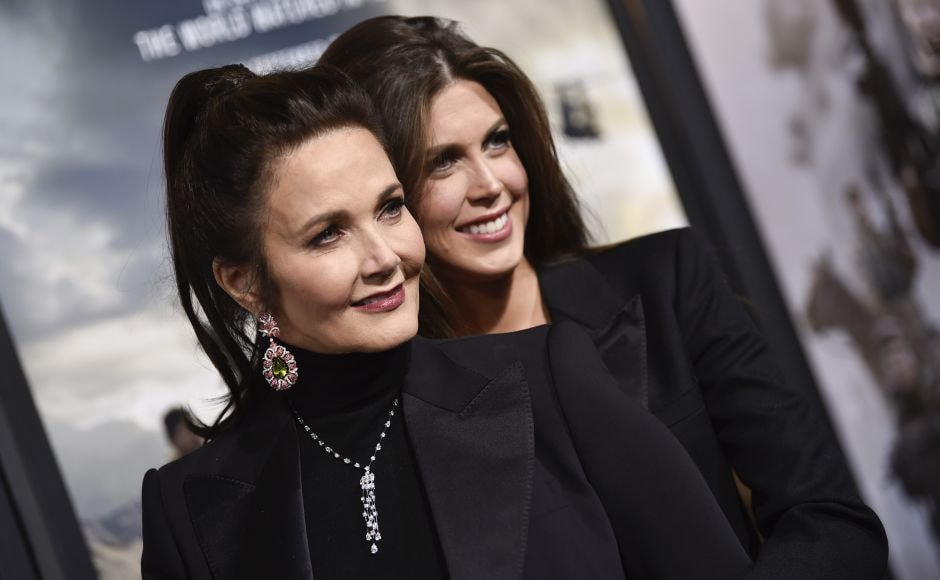 Actress Lynda Carter and daughter Jessica Altman attend the world premiere of 12 Strong.Helmed by Nicolai Fuglsig, 12 Strong is set in the harrowing days following 9/11 when a US Special Forces team, led by their new Captain, Mitch Nelson (Chris Hemsworth), is chosen to be the first US troops sent into Afghanistan for an extremely dangerous mission. AP