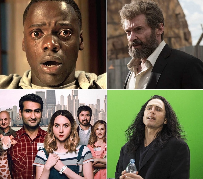 Get Out, Logan, The Big Sick, The Disaster Artist