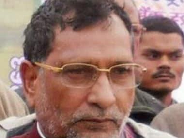 File image of Ram Gobind Chaudhary. Twitter @RamGChaudhary