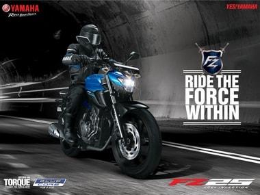 Yamaha FZ25 India. Yamaha