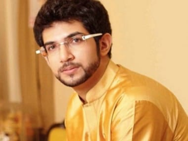 Yuva Sena chief Aaditya Thackeray. Image courtesy: Twitter/AUThackeray