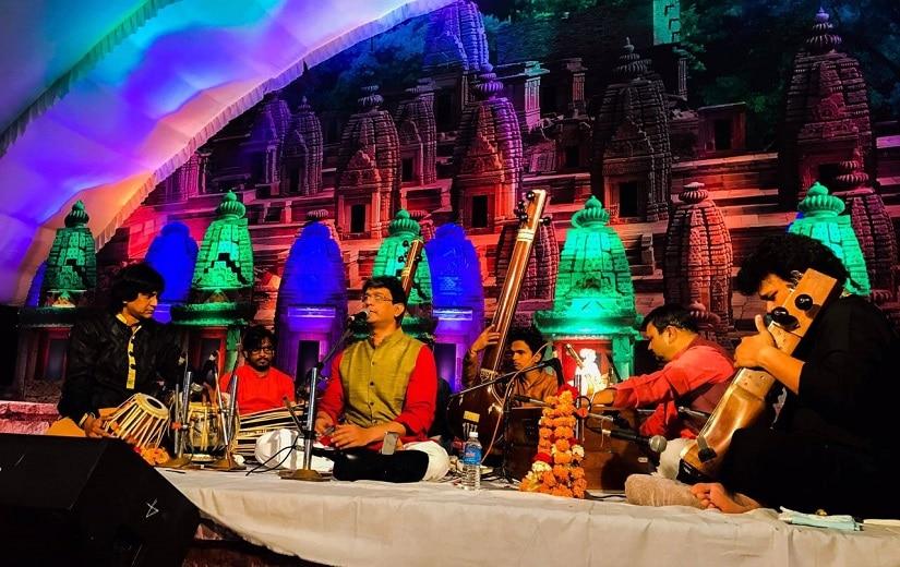 Shrinivas Joshi of the Kirana Gharana, which is famous for its refined intonations of swaras in Hindustani khayal singing