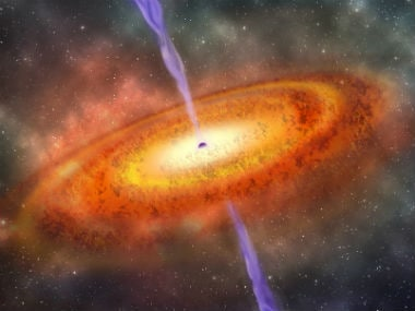 Scientists discover a rapidly growing black hole that can devour Sun-like massive objects