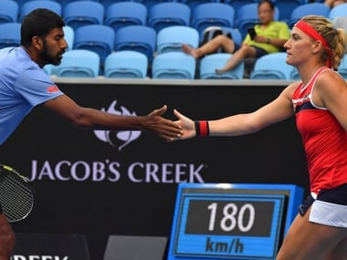 Australian Open 2018: Rohan Bopanna and Timea Babos advance into mixed doubles semi-final
