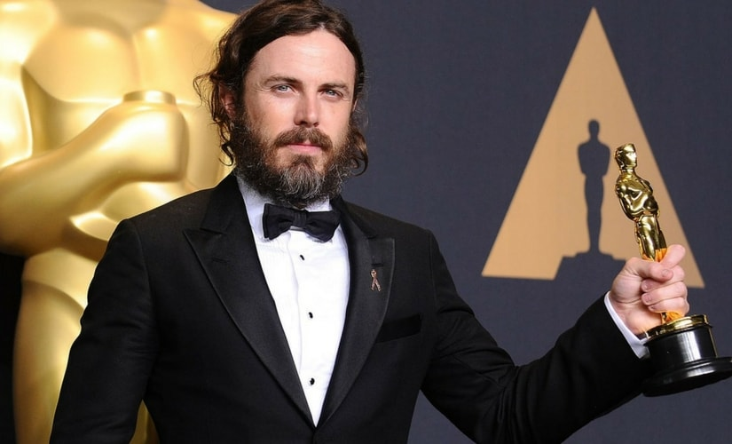 Last yer's winner for Best Actor, Casey Affleck/Image from Twitter.