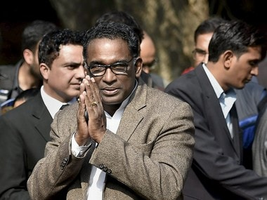 Fle image of Supreme Court judge Jasti Chelameswar. PTI