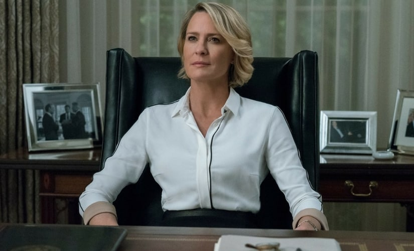 A still of Claire Underwood from House of Cards/Image fro Twitter.