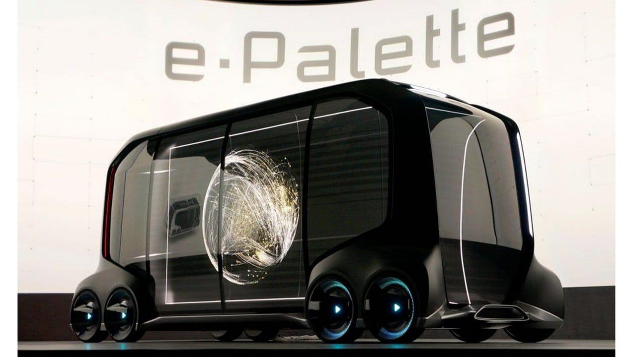 Toyota e-Palette concept. Image: Reuters