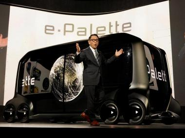 Toyotas e-Palette concept stores-on-wheels shown at CES 2018 prove yet again how Black Mirror preempts trends