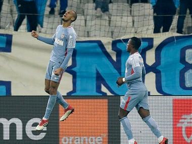 Ligue 1: Monacos Fabinho stars in 2-2 draw against Marseille; Bordeaux stun Lyon