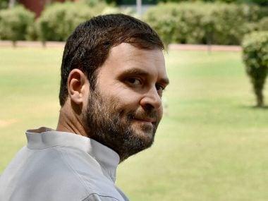 File image of Congress president Rahul Gandhi. PTI