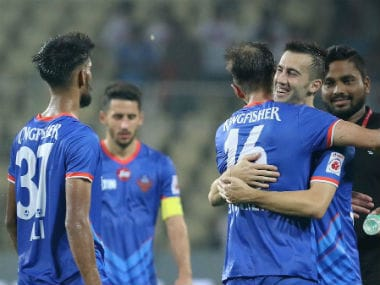 FC Goa controlled proceedings in both halves against Jamshedpur FC. Twitter/@IndSuperLeague