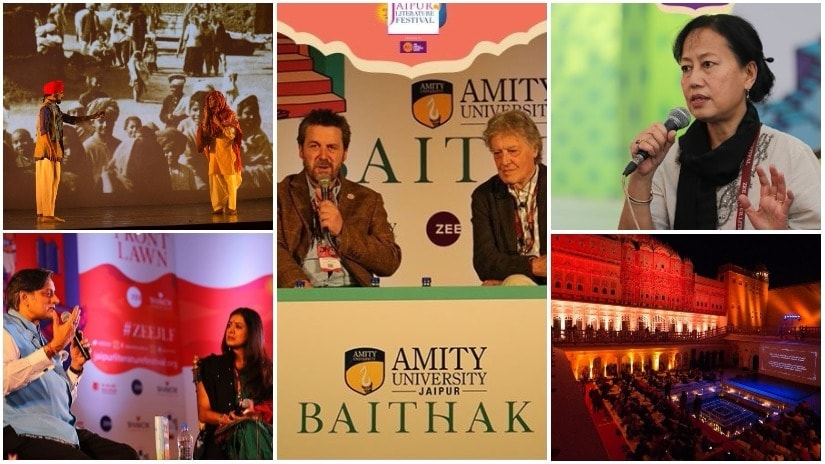 Scenes from Day 3 of the Zee Jaipur Literature Festival 2018
