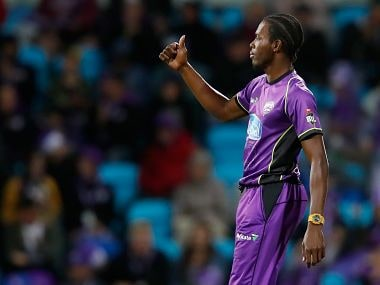 File image of Jofra Archer. Image courtesy: Twitter @HurricanesBBL