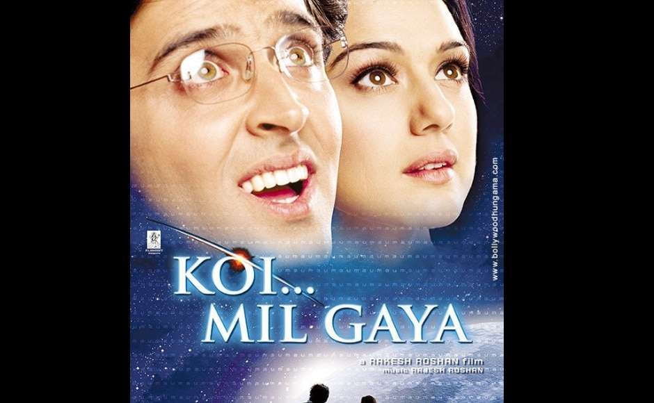 Hrithik Roshan and Preity Zinta's Koi Mil Gaya is arguably one of the finest children's films of India. Image from Twitter/@iNitinHrithik