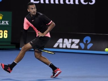 Australian Open 2018: Well-behaved Nick Kyrgios keeps emotions in check to get past Jo-Wilfried Tsonga