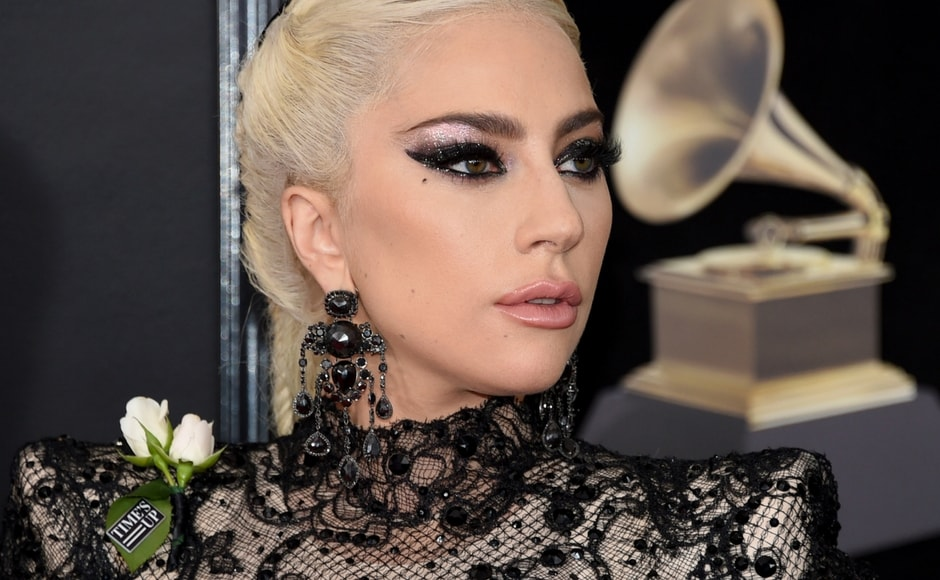 Grammy Awards 2018: Lady Gaga, Miley Cyrus, Rita Ora wear white roses to support Time's Up movement