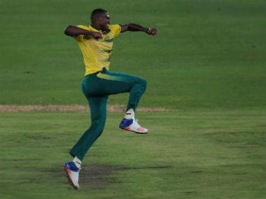 File photo of South African pacer Lungi Ngidi. AFP