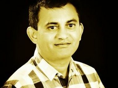 File image of Paresh Dhanani. Image courtesy: Twitter/@paresh_dhanani