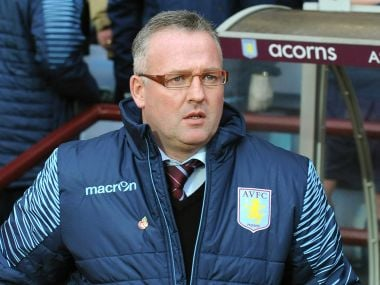 File photo of Paul Lambert. AP
