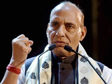 File image of Home Minister Rajnath Singh. PTI