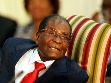 File image of Robert Mugabe. AP