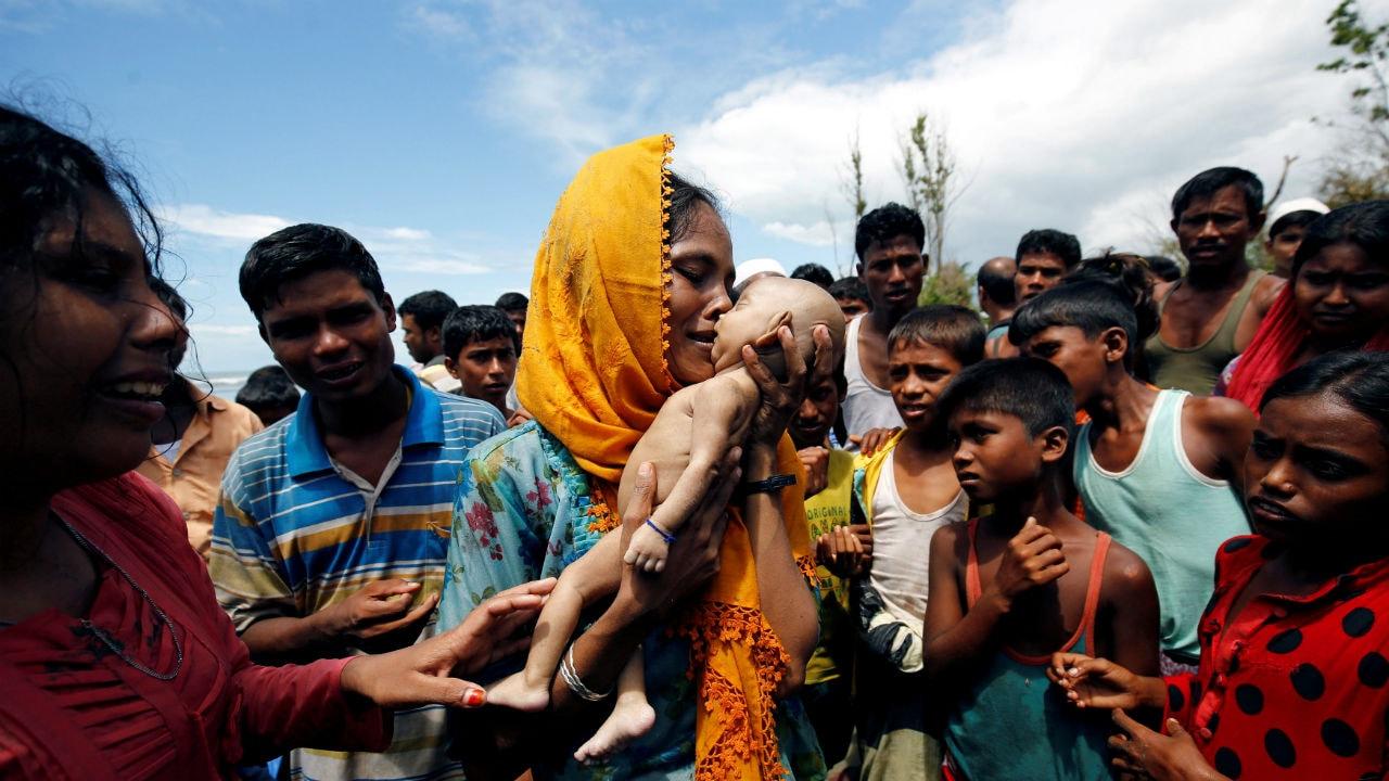 Rohingya refugees. Image: Reuters