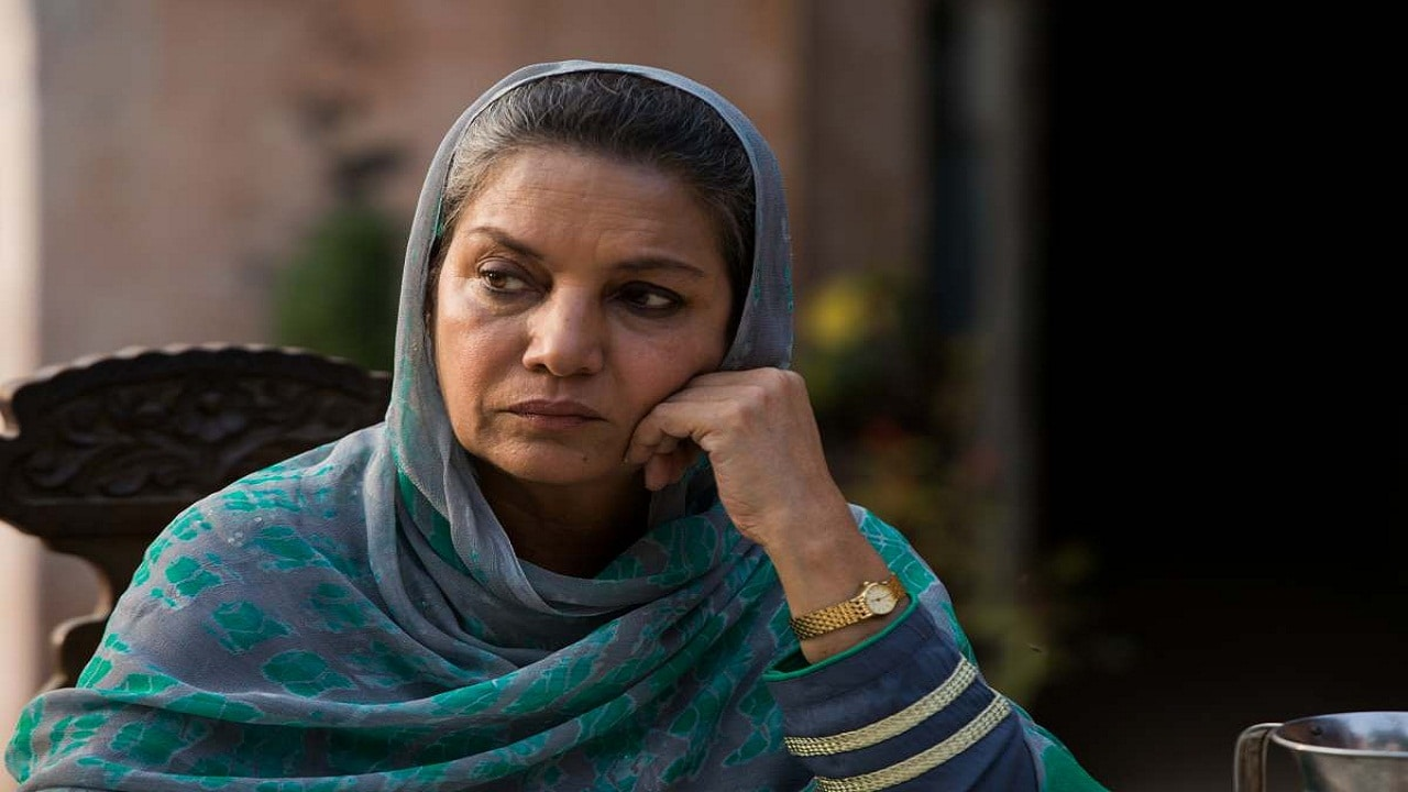 Shabana Azmi in a still from Next Of Kin. YouTube