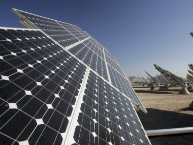 Solar panels. Representational image. Reuters