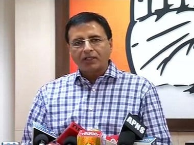 File image of Congress leader Randeep Surjewala. News18