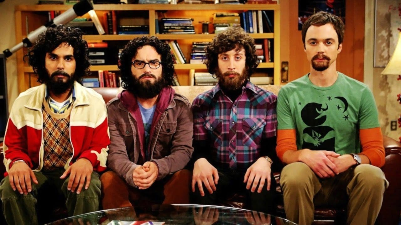 A still from The Big Bang Theory. YouTube