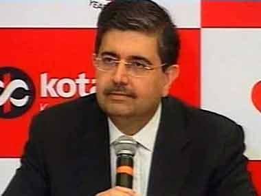 File photo of Uday Kotak. Pic courtesy: IBNLive