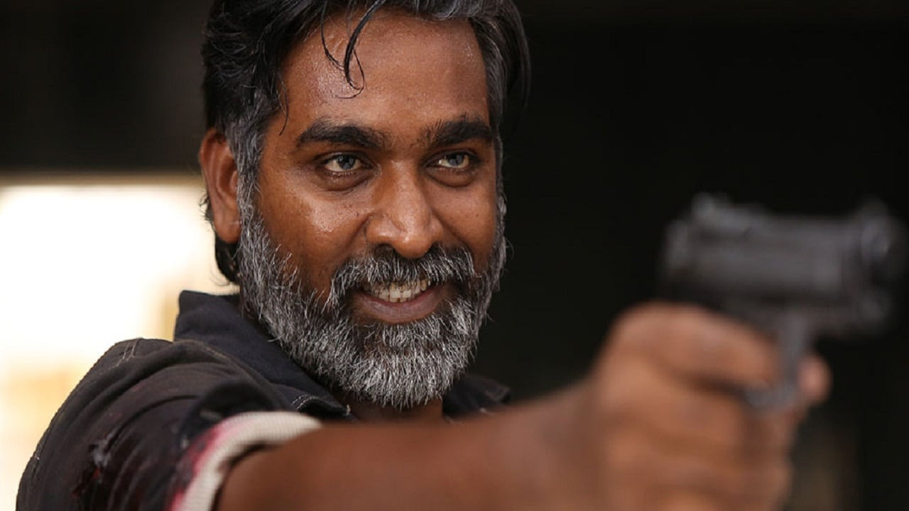 Vijay Sethupathi in a still from Vikram Vedha. YouTube