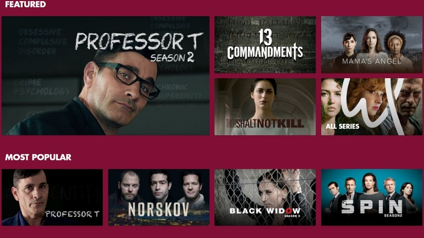 Screengrab of walterpresents.com