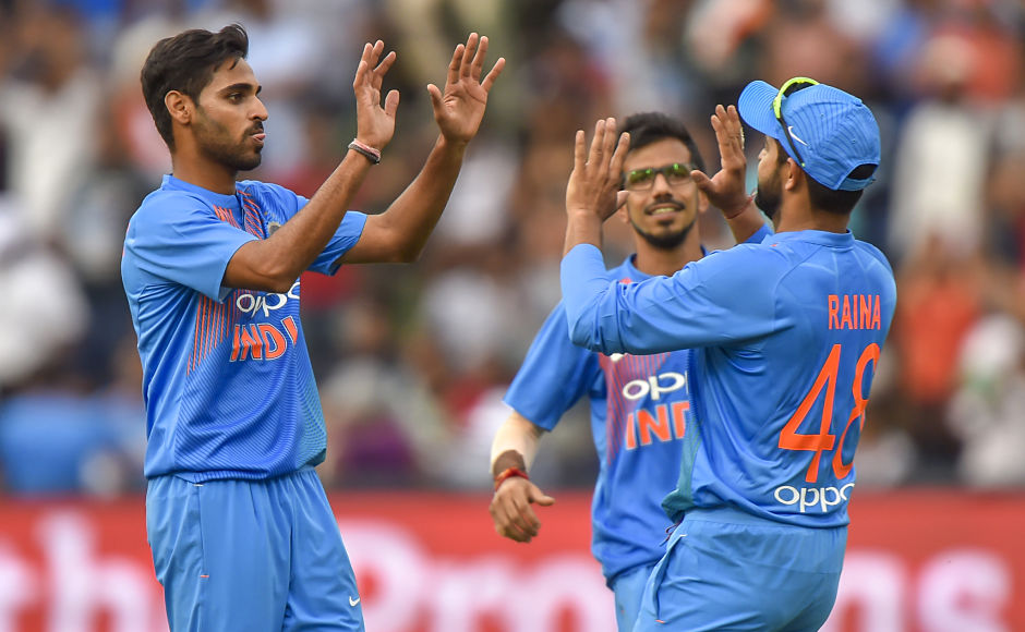 Bhuvneshwar Kumarshone with the ball, becoming only the second Indian to bag a 5-wicket haul in T20Is. Unsurprisingly he was adjudged the Man of the Match. AFP