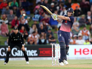 England's Ben Stokes smashed 63 to help his side to a six-wicket win. AFP