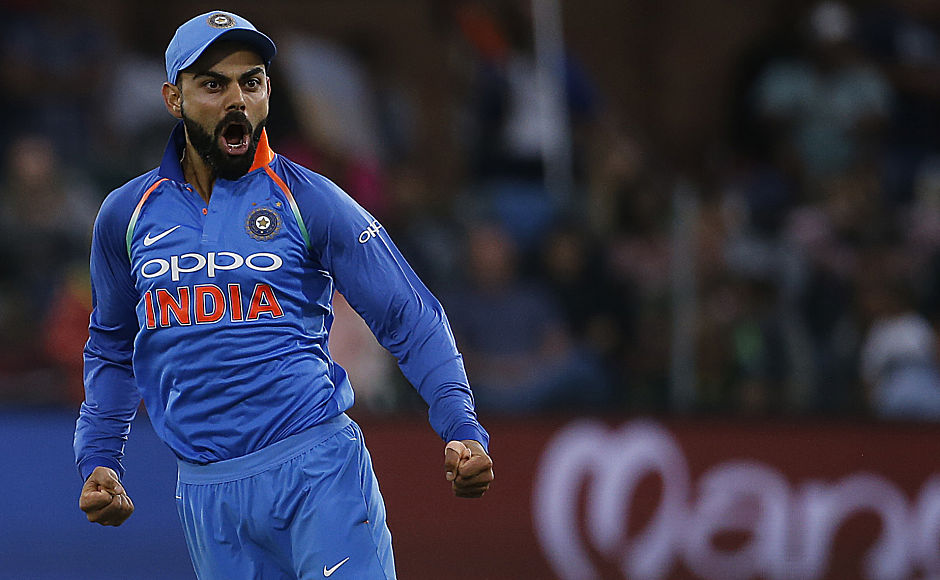 India completed its ninth consecutive bilateral series win after defeating South Africa in Port Elizabeth, winning the series 4-1with an ODI left to be played. Virat Kohli is yet to lose an ODI series as a full-time captain. AFP