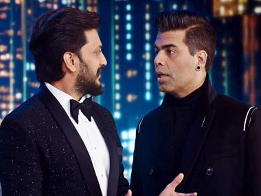 Welcome to New York movie review: Watch this tacky spoof film only for Karan Johar, Riteish Deshmukh
