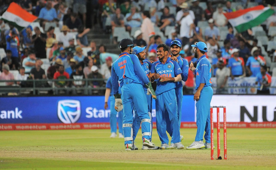 Yuzvendra Chahal along with wrist spinning partner, Kuldeep Yadav, were once again proved to be too good for the Proteas as they scalped four wickets each, bowling out the home side for 179. AFP
