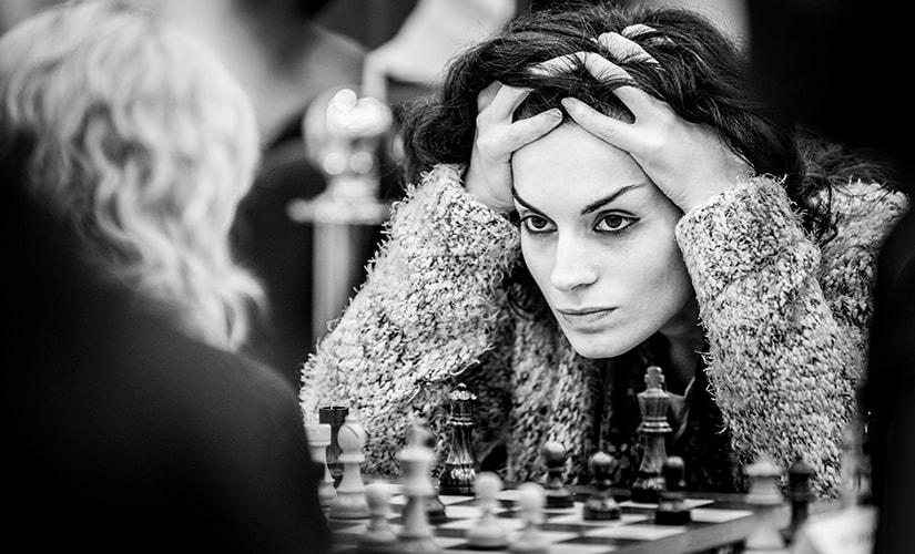Gavasheli Ana, 2017 Sharjah Women Tournament, UAE. Photo © David Llada