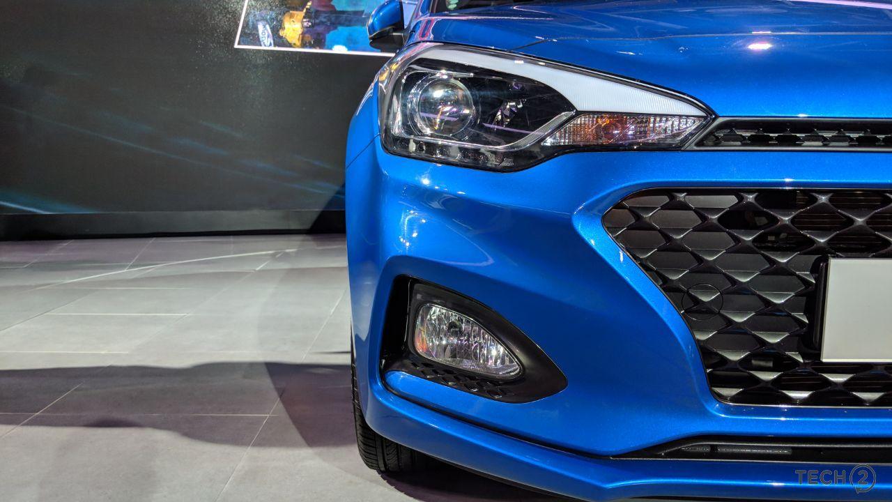 2018 Hyundai Elite i20 at the Auto Expo 2018