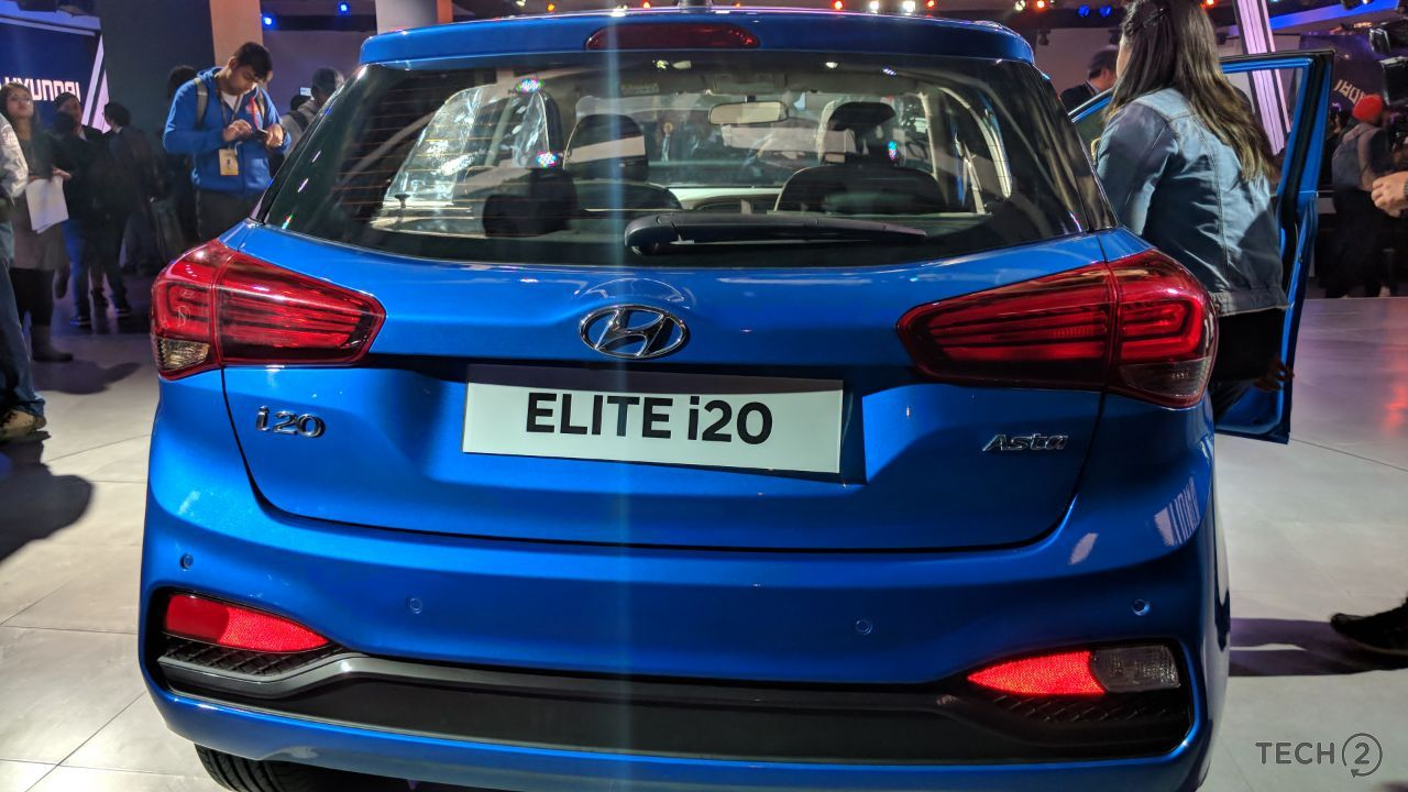 auto expo 2018 hyundai elite i20 launched at rs lakh in india technology news firstpost. Black Bedroom Furniture Sets. Home Design Ideas
