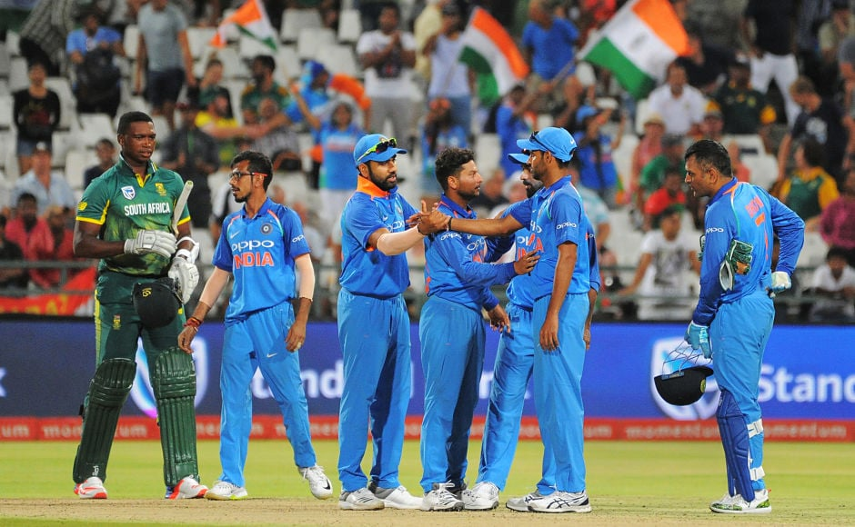 Virat Kohli, wrist spinners dazzle in India's 124-run win over South Africa, take unassailable 3-0 lead