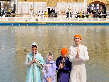 Justin Trudeau in India: Canadian PM visits Golden Temple, holds one-to-one meet with Amarinder Singh in Amritsar