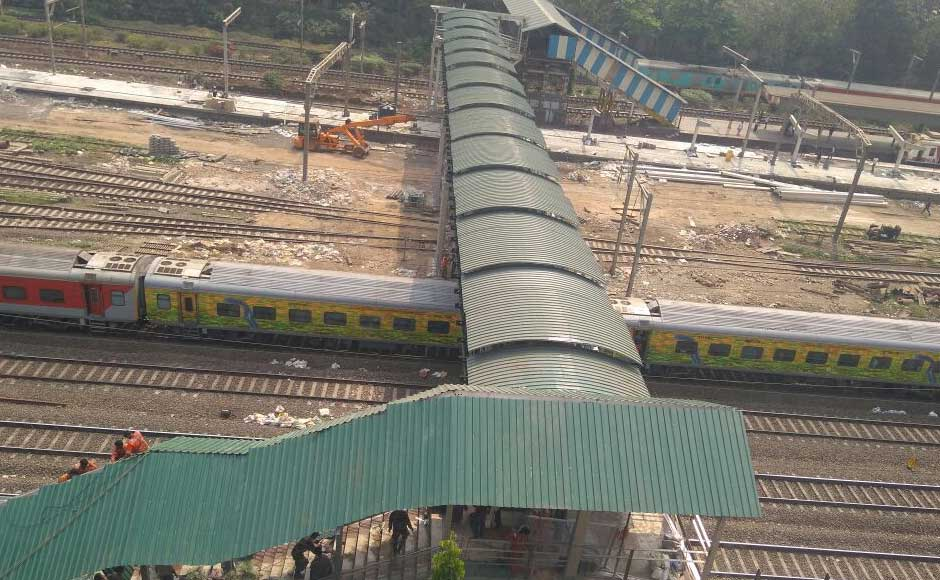 Goyal said the railways have constructed 17 more FOBs.