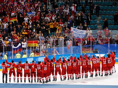Winter Olympics 2018: Olympic Athletes from Russia beat Germany in thrilling final to win mens ice hockey gold