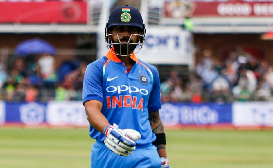 Virat Kohli was involved in yet another mix up with Rohit Sharma that saw him dismissed for 36 after a direct-hit from fielder JP Duminy. PTI
