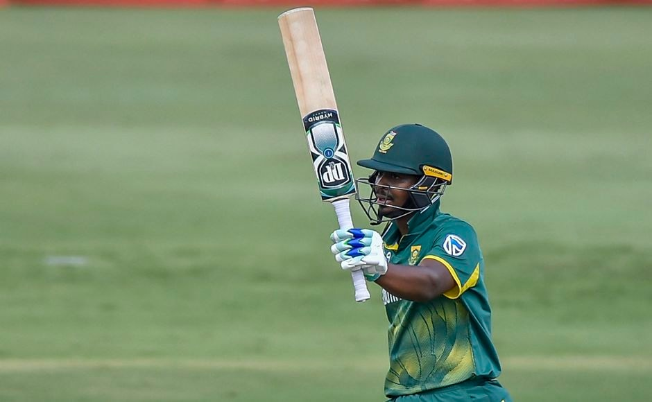 Only Khaya Zondo stood tall from South Africa's batting-line up notching his maiden half-century, which also helped hosts cross the 200-run barrier. PTI